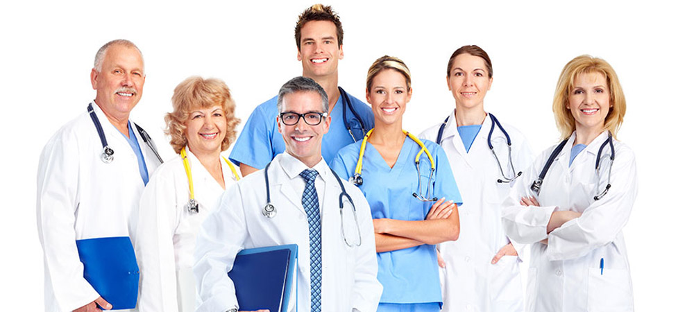 Professional Doctors and Nurses